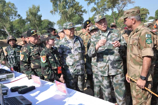 China'Watch'Canada: Chinese troops training Pak Army near ...
