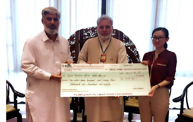 Chinese Embassy in Pakistan donates two schools in Khyber Agency