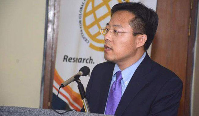 Chinese envoy Zhao Lijian says China Pakistan Economic Corridor is at take-off stage